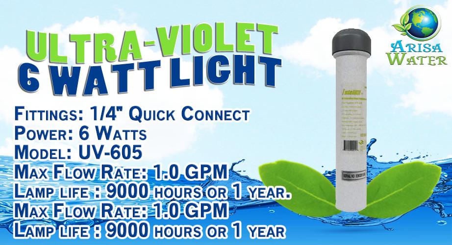 Ultra-Violet 6 Watt Reverse Osmosis Light
